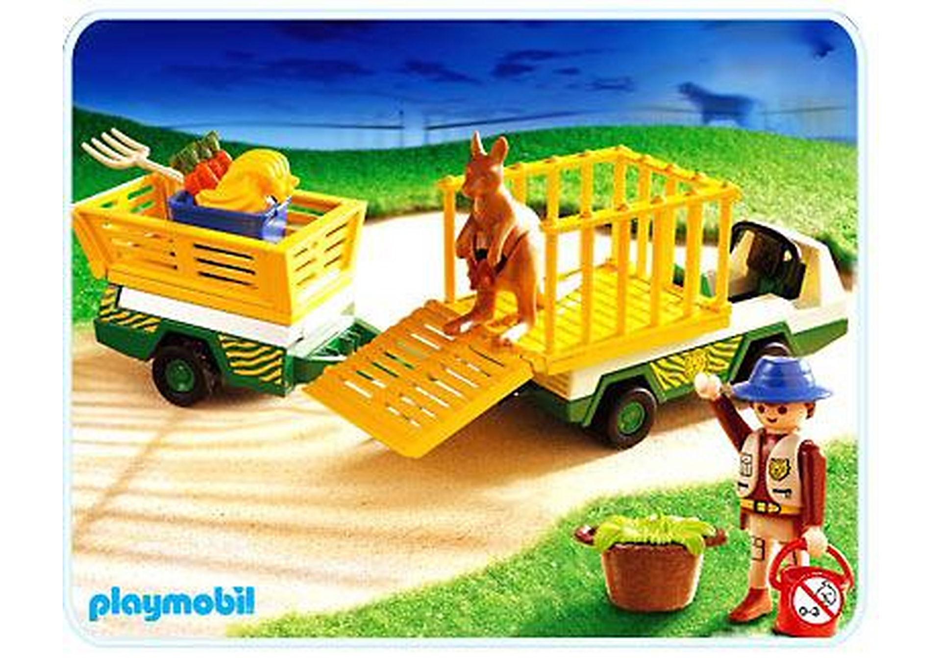 3242-C Gardien de zoo/vehicule d'entretien zoom image1