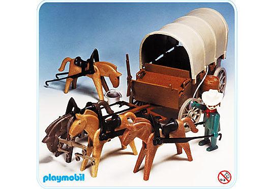 3243-A Planwagen (Vierspänner) detail image 1