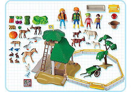 3243-B Parc animalier detail image 2