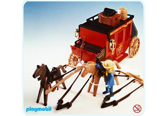 playmobil cowboy kutsche