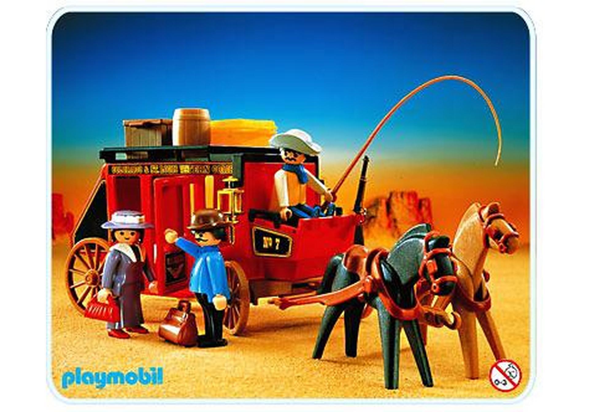 Diligence wild west 3245 b playmobil france - Kutsche playmobil ...