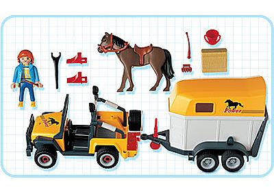 3249-B Pferdetransporter detail image 2