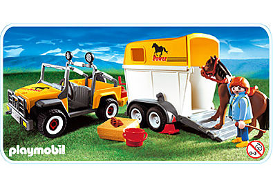 3249-B Pferdetransporter detail image 1