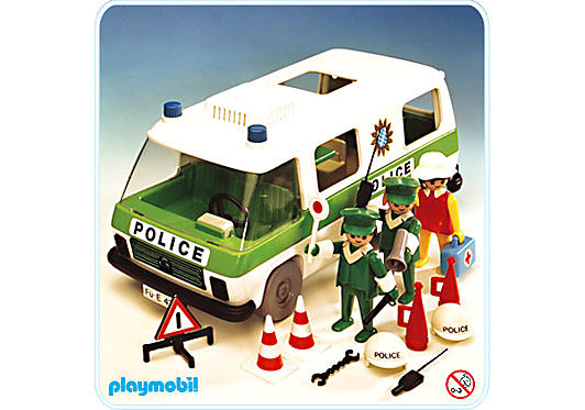 3253-A Police - Einsatzwagen detail image 1