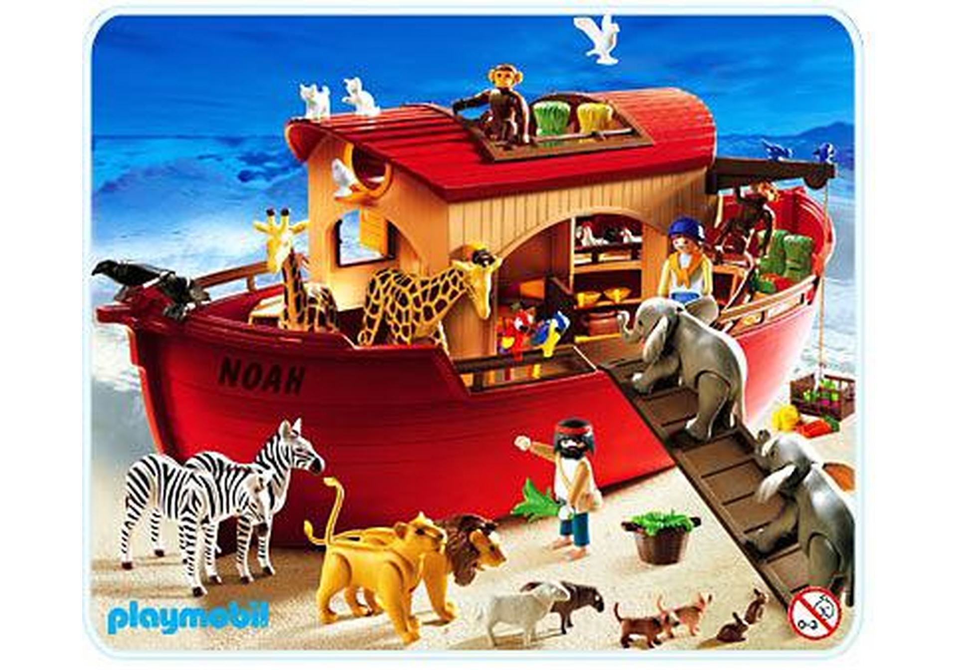 arche de no 3255 c playmobil france. Black Bedroom Furniture Sets. Home Design Ideas