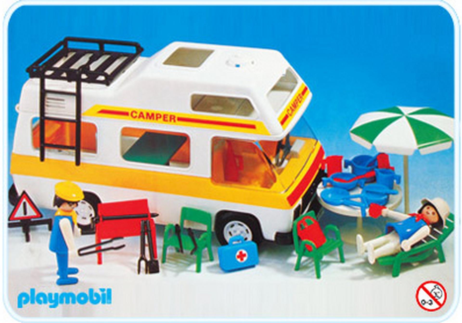 Camping car 3258 a playmobil france - Camping car playmobil pas cher ...