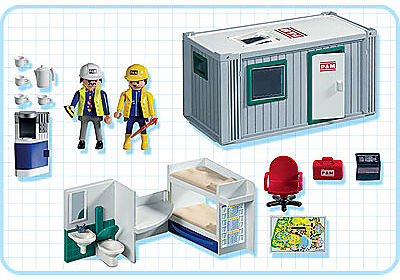 3260-A Baucontainer detail image 2