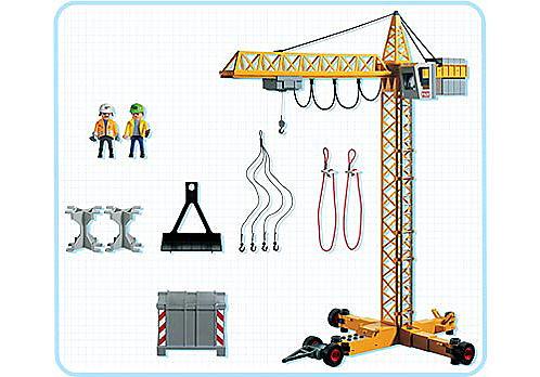 3262-C Grue de chantier detail image 2