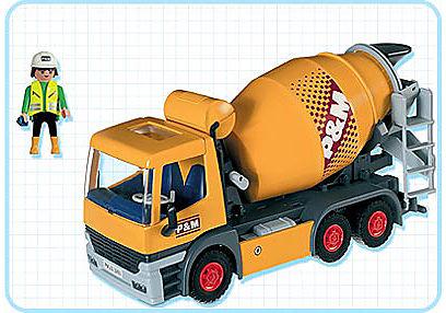 3263-B Chauffeur / bétonnière detail image 2