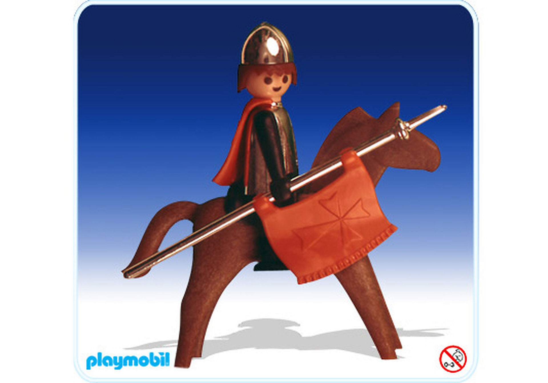 3265-A Ritter zu Pferd zoom image1
