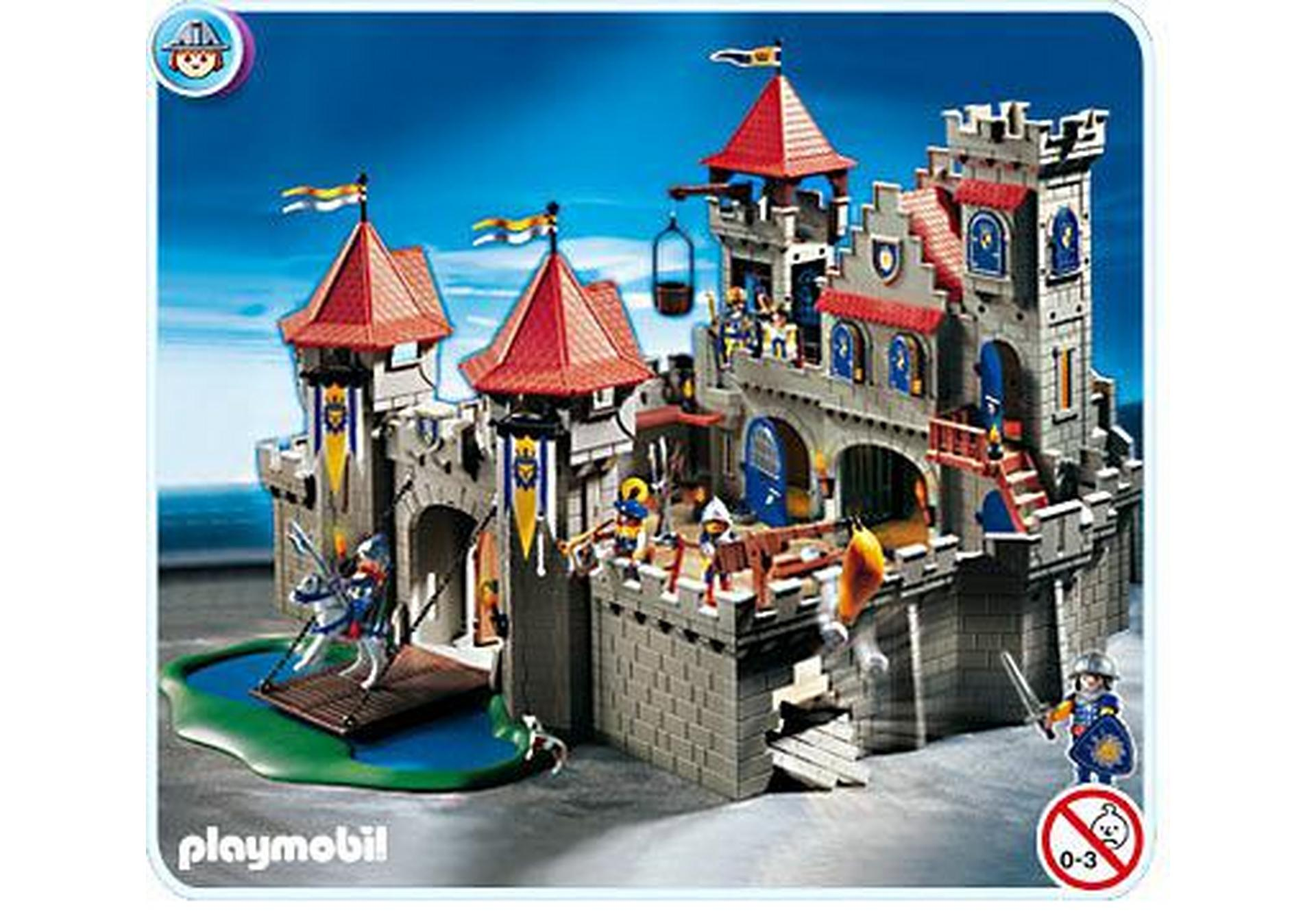 Grand ch teau royal 3268 a playmobil france for Plan chateau fort playmobil