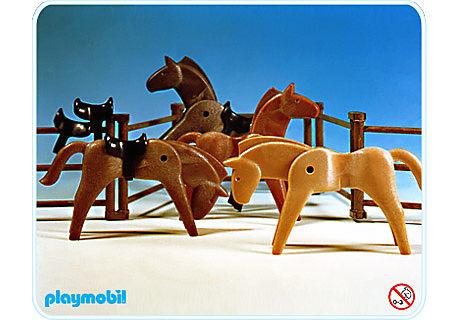 3270-B 4 Pferde detail image 1
