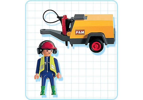 3270-C Bauarbeiter/Kompressor detail image 2