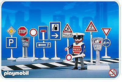 3273-A Policier / Panneaux de signalisation detail image 1