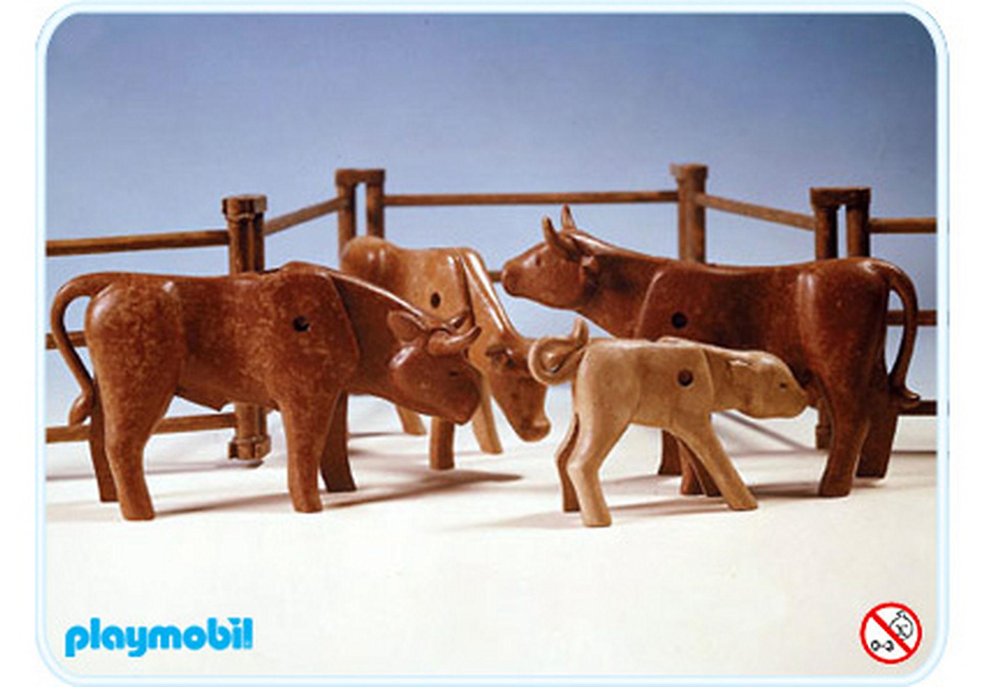 3275-A Rinder mit Gatter zoom image1