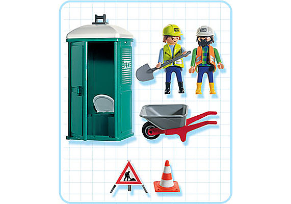 3275-B Mobile Toilette/Bautrupp detail image 2