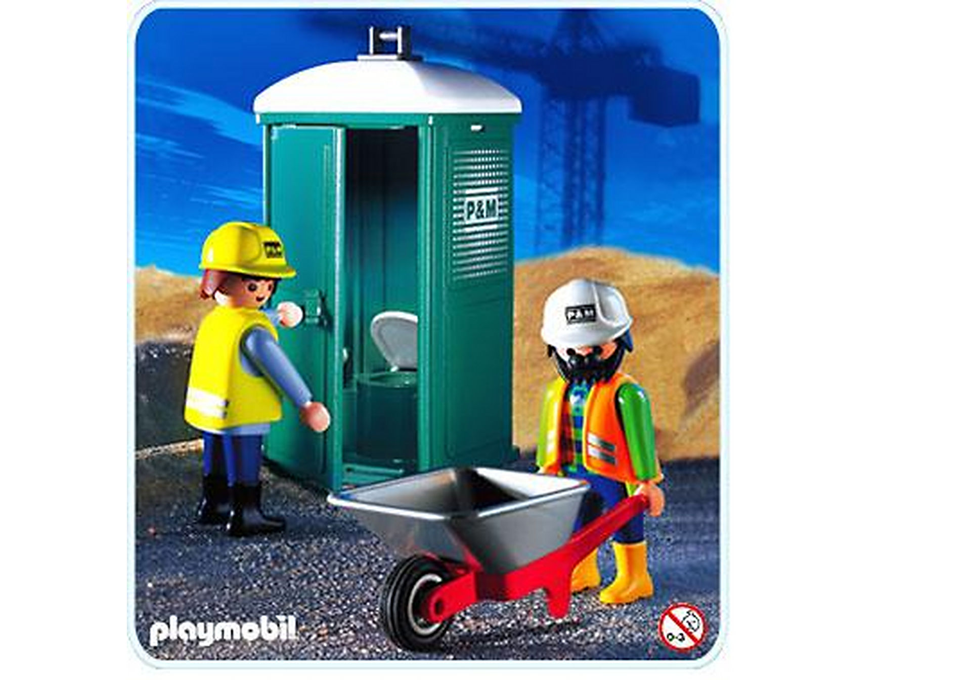 3275-B Mobile Toilette/Bautrupp zoom image1