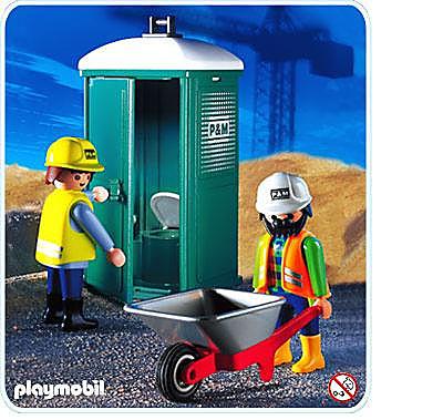 3275-B Mobile Toilette/Bautrupp detail image 1