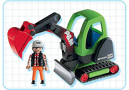 3279-B Minibagger detail image 2