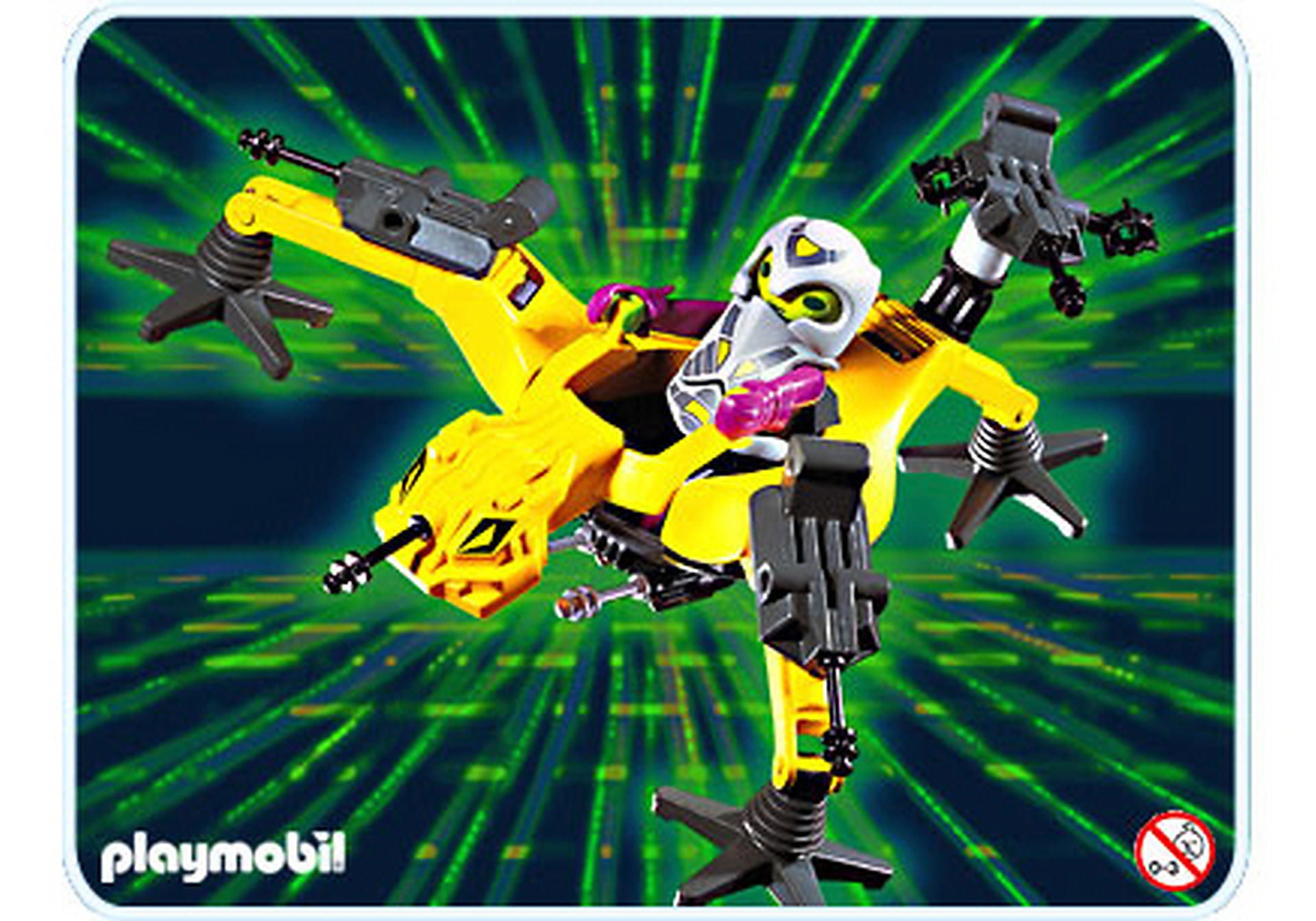 3282-A Alien Spider zoom image1