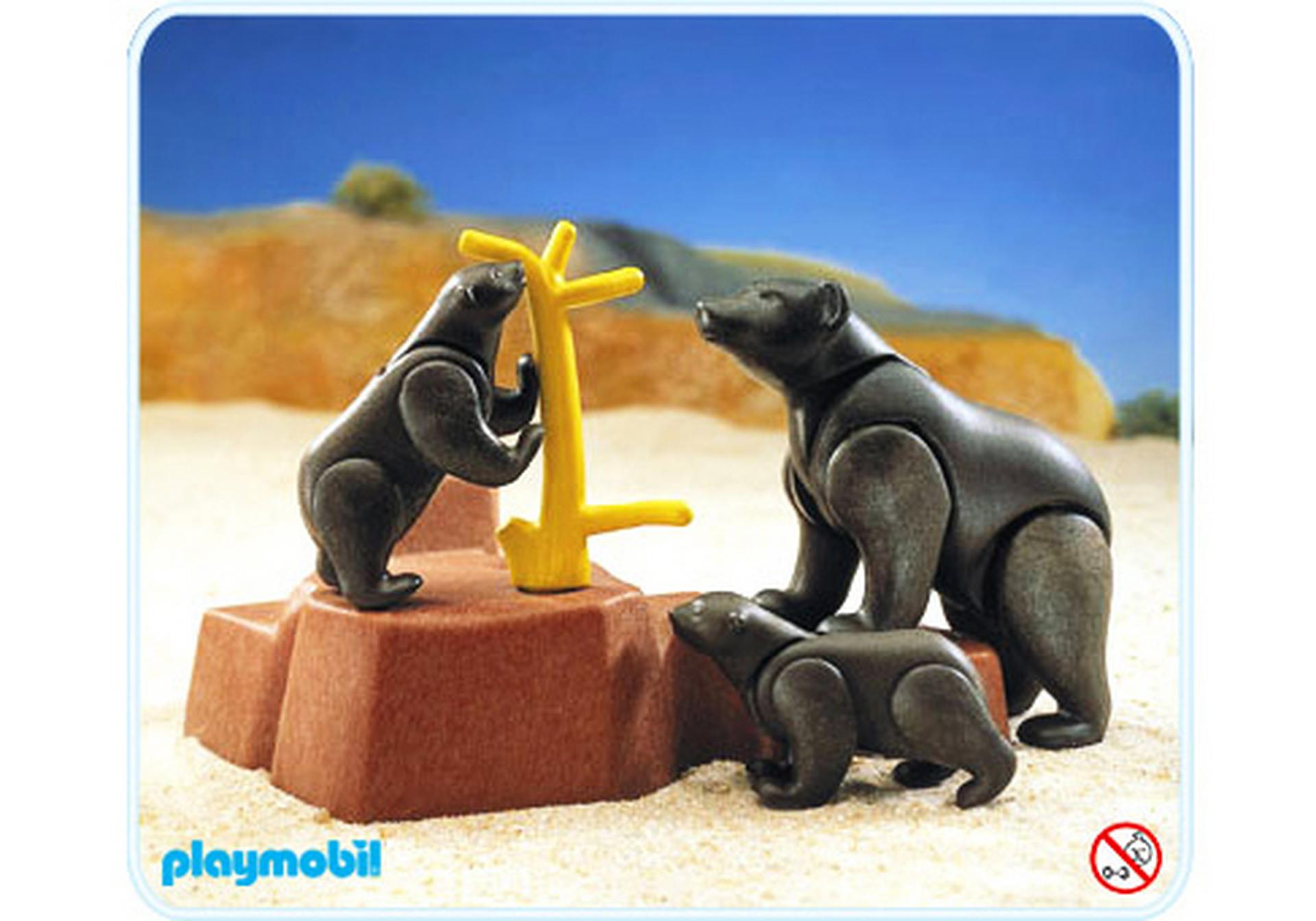 Famille ours 3298 a playmobil france for Playmobil buanderie