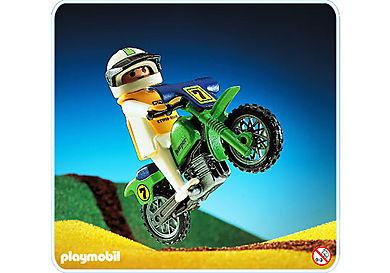 3301-A Geländemotorrad/Fahrer