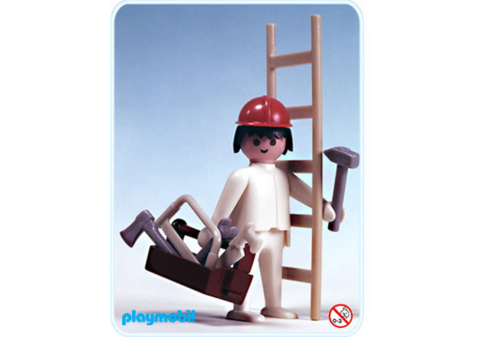 3311-A Hochbauarbeiter/Werkzeugkasten zoom image1