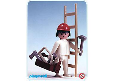3311-A Ouvrier avec charpentier