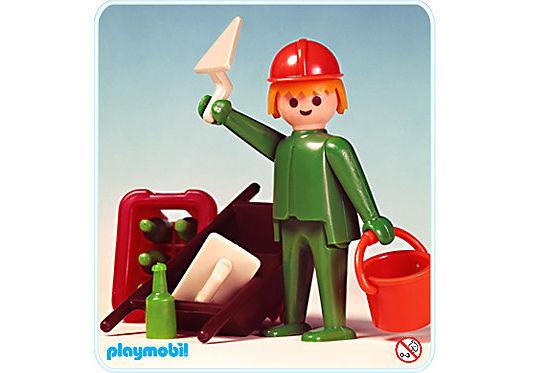 3312-A Hochbauarbeiter/Bierkasten detail image 1