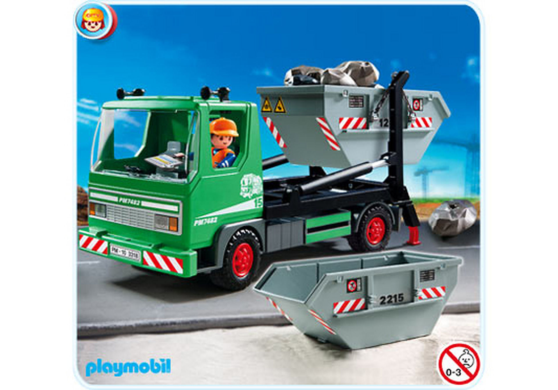 3318-B Containerdienst zoom image1