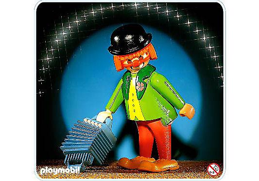 3319-A Clown/Akkordeon detail image 1