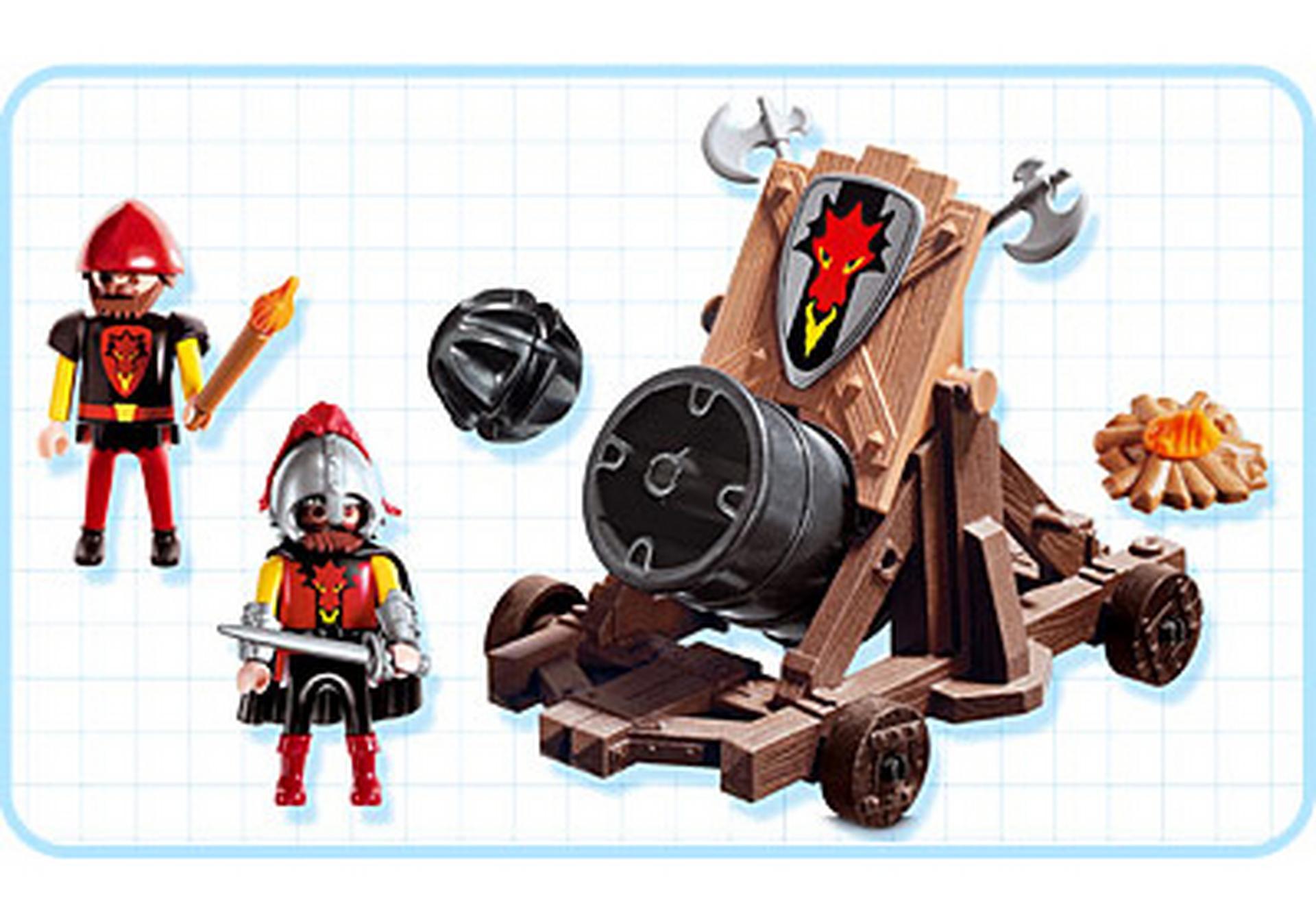 Drachenritter mit angriffsgesch tz 3320 b playmobil for Jugendzimmer playmobil