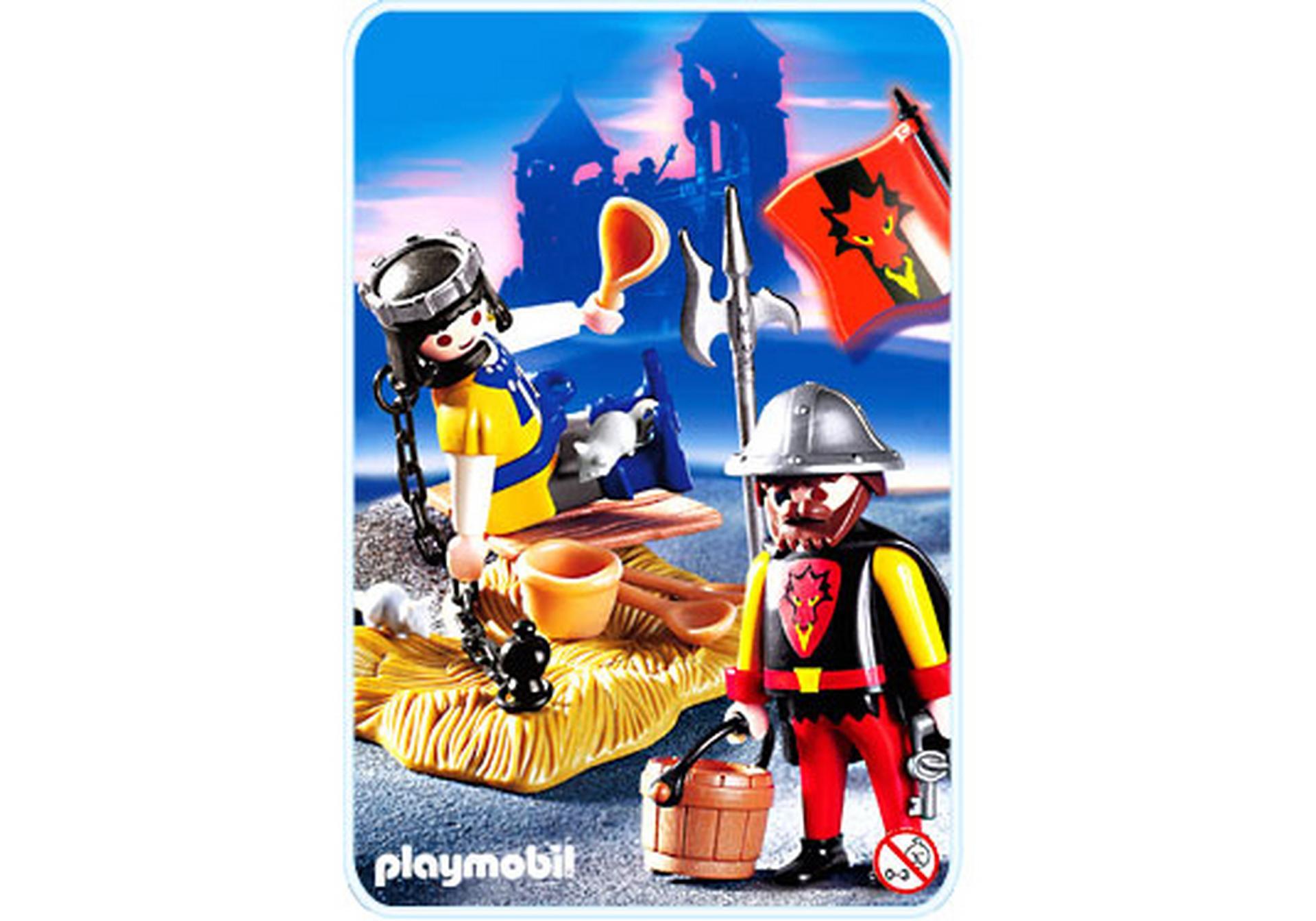 Gefangener prinz mit wachposten 3328 b playmobil for Jugendzimmer playmobil