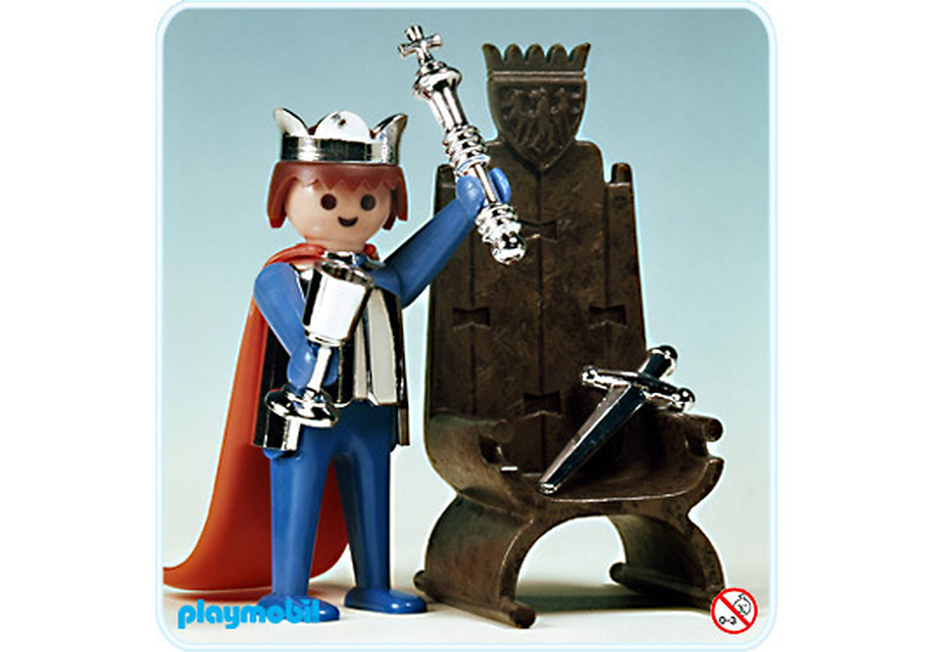 3331-A Roi / trône zoom image1