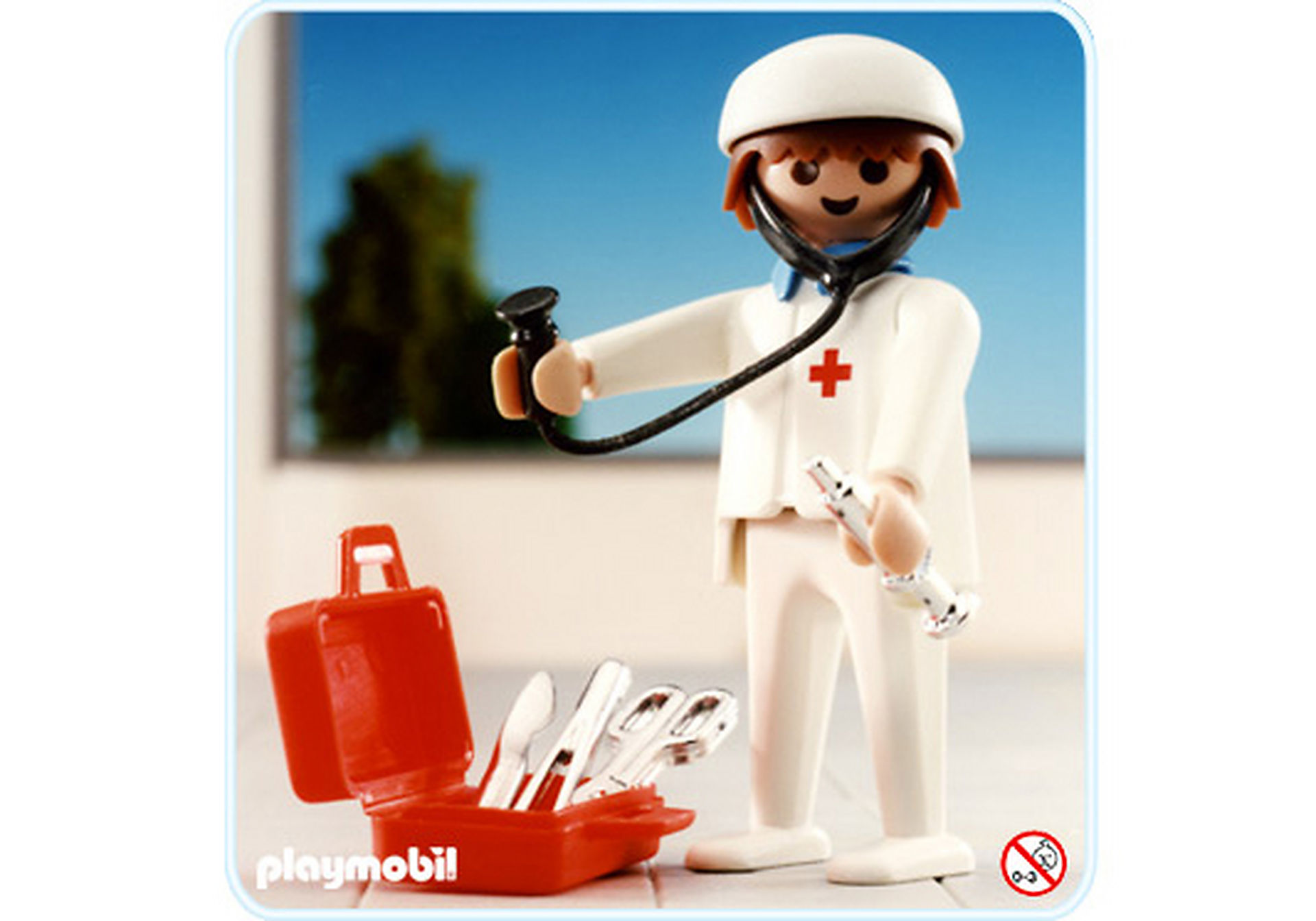 3340-A Médecin urgentiste zoom image1