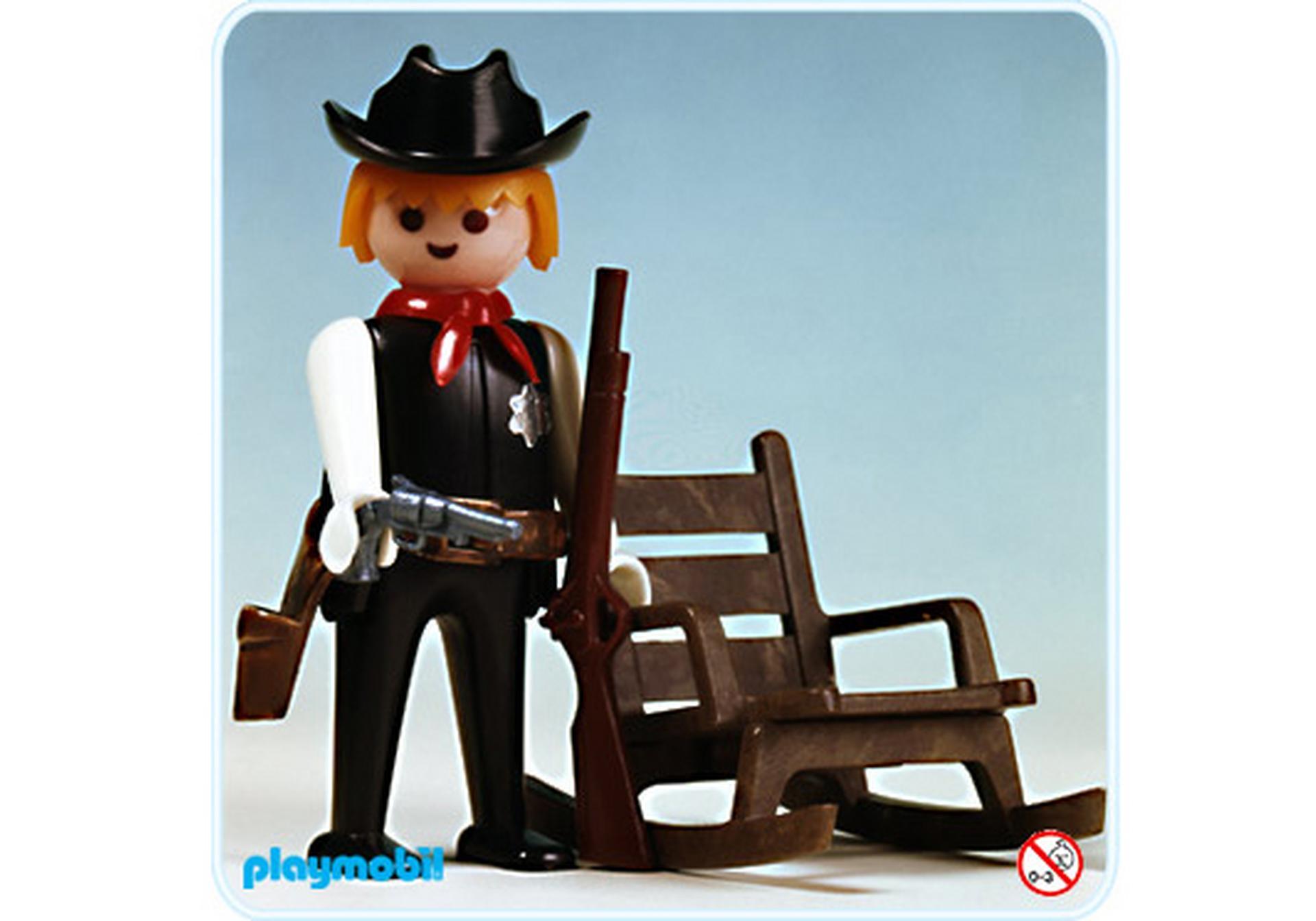 Sheriff schaukelstuhl 3341 a playmobil deutschland for Jugendzimmer playmobil
