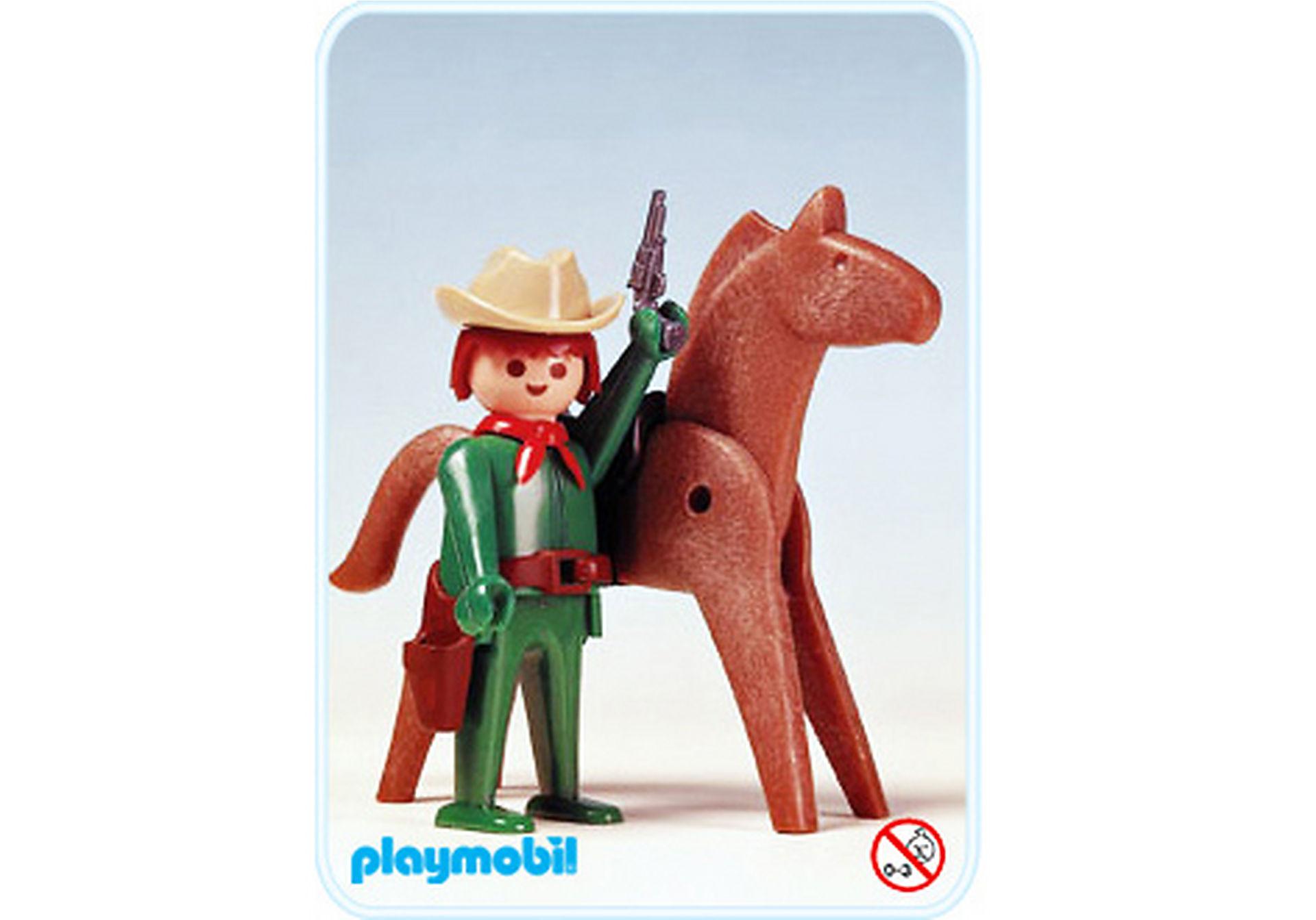 3342-A Cowboy/Pferd zoom image1
