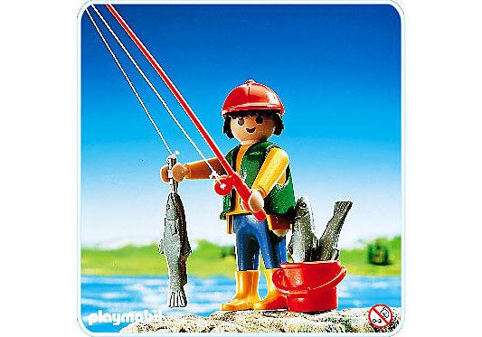 3350-A Pêcheur à ligne detail image 1