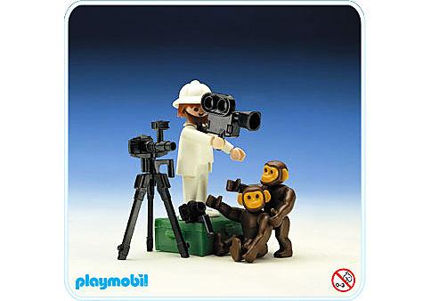 3364-A Tierfotograf/Schimpansen detail image 1
