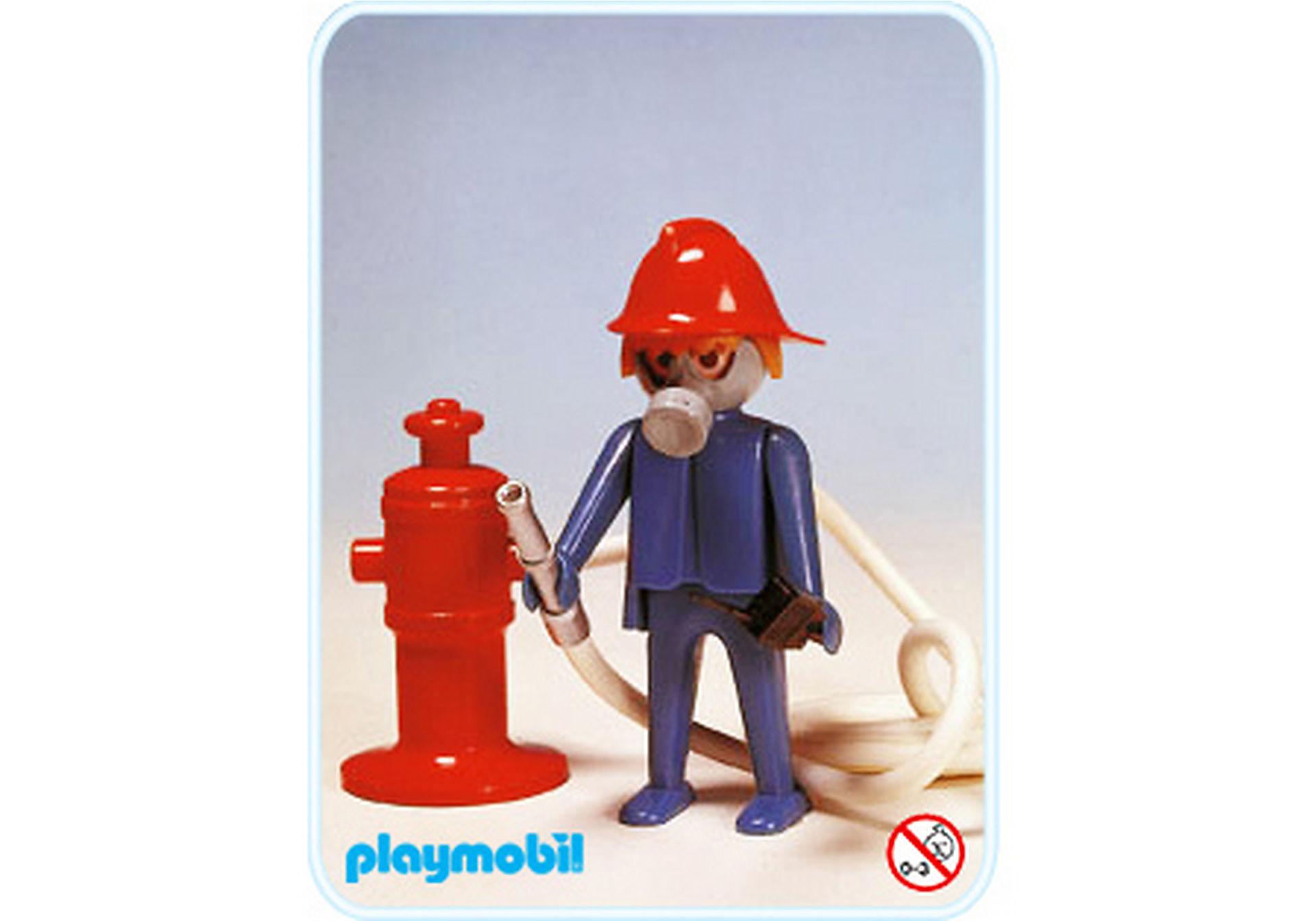3367-A Feuerwehrmann/Hydrant zoom image1