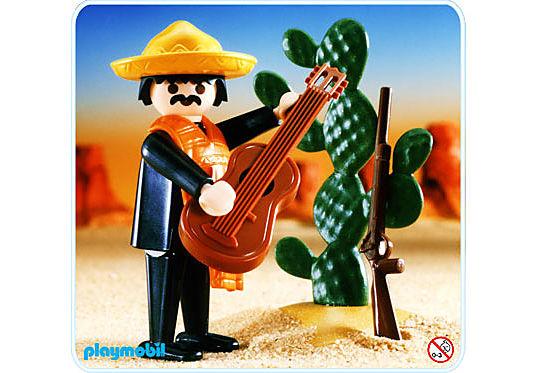 3384-A Mexikaner/Feigenkaktus detail image 1