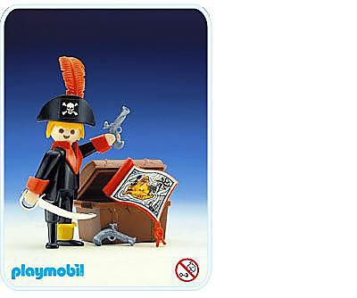 3385-A Pirat/Schatztruhe detail image 1