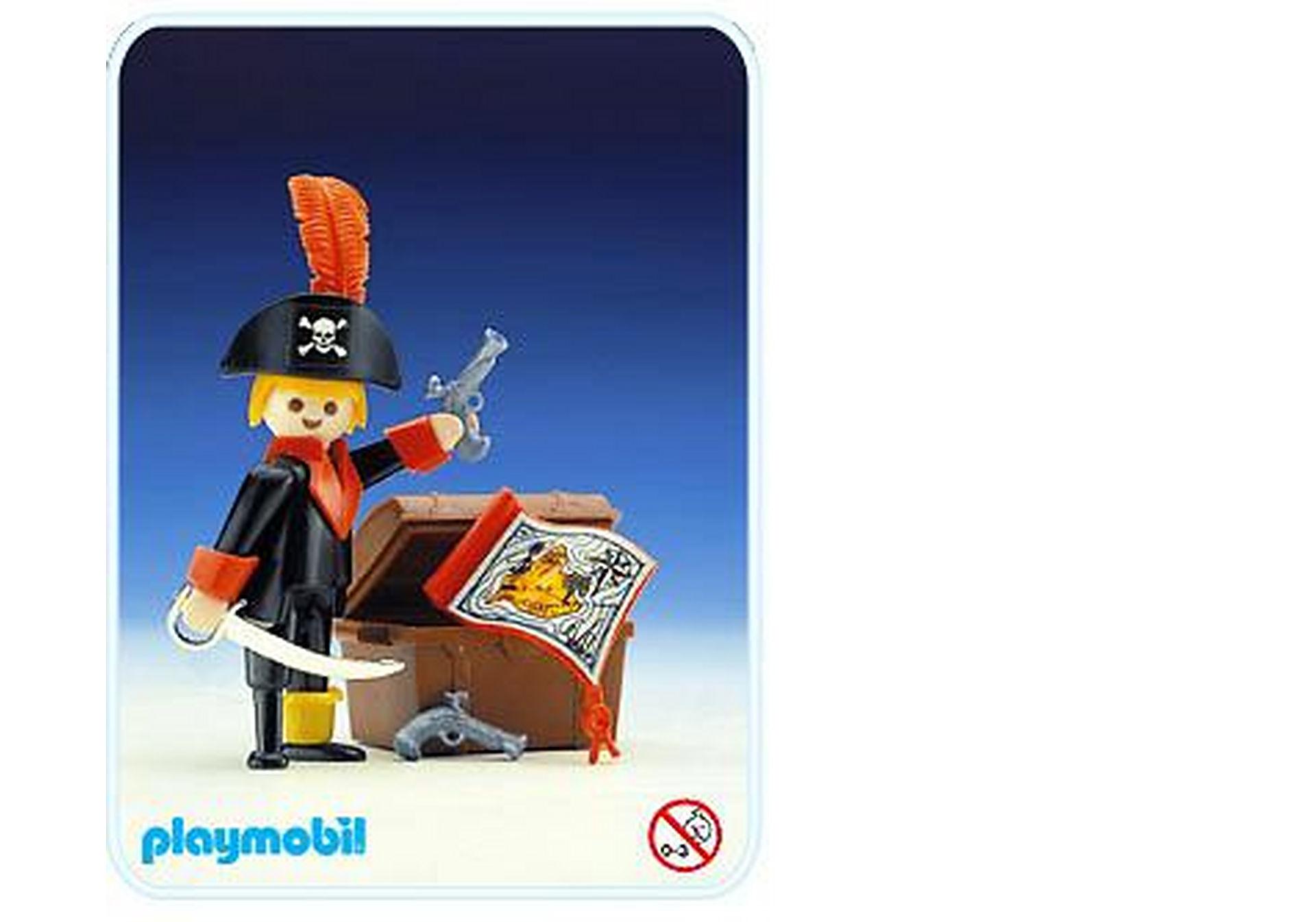 3385-A Pirate / coffre à trésor zoom image1