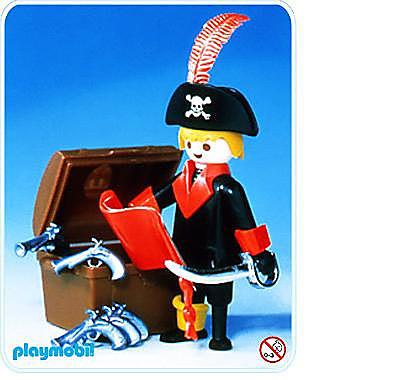 3385-A Pirat/Schatztruhe detail image 2