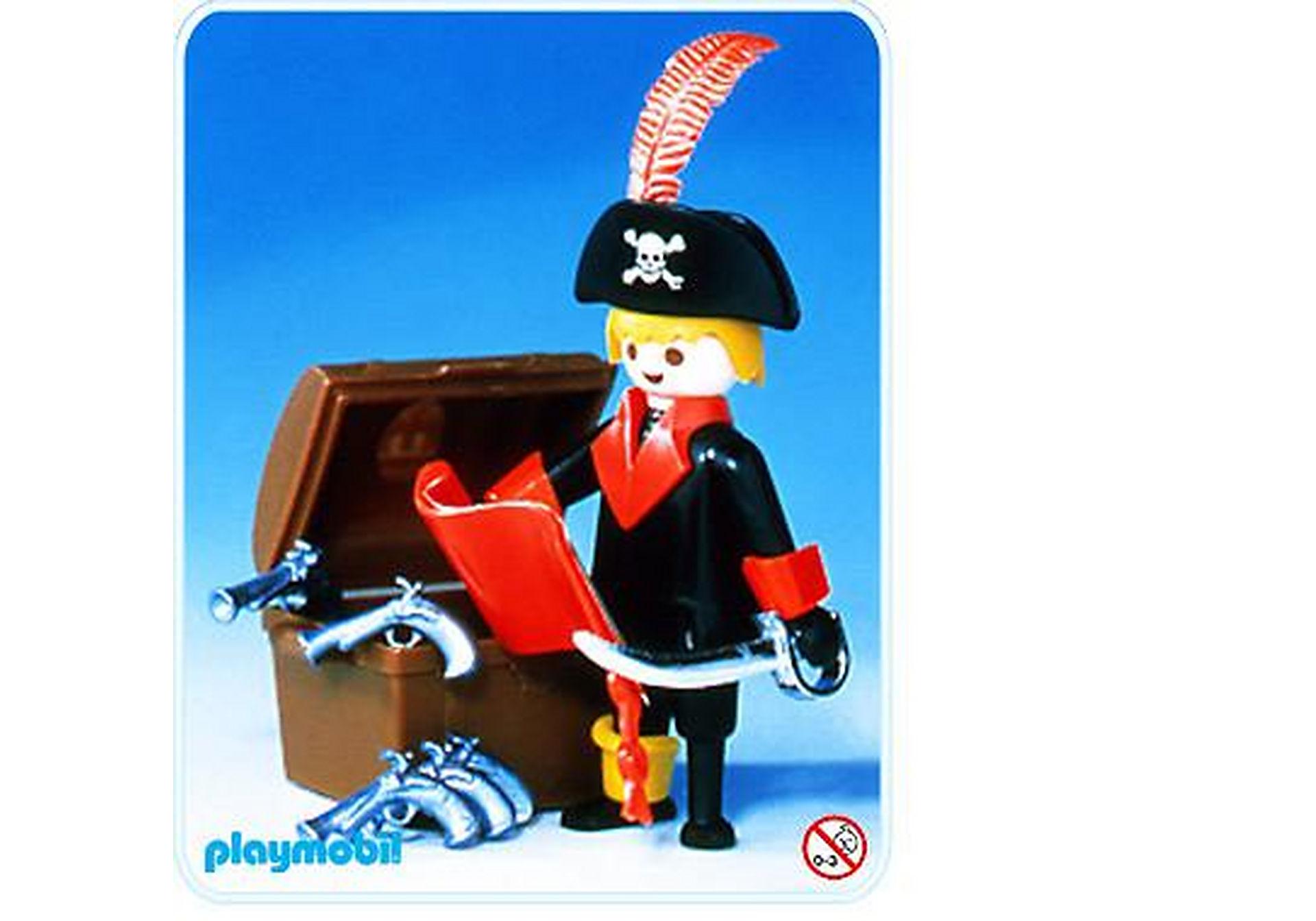 3385-A Pirate / coffre à trésor zoom image2