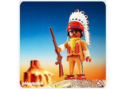 3395-A Indianer-Häuptling detail image 1
