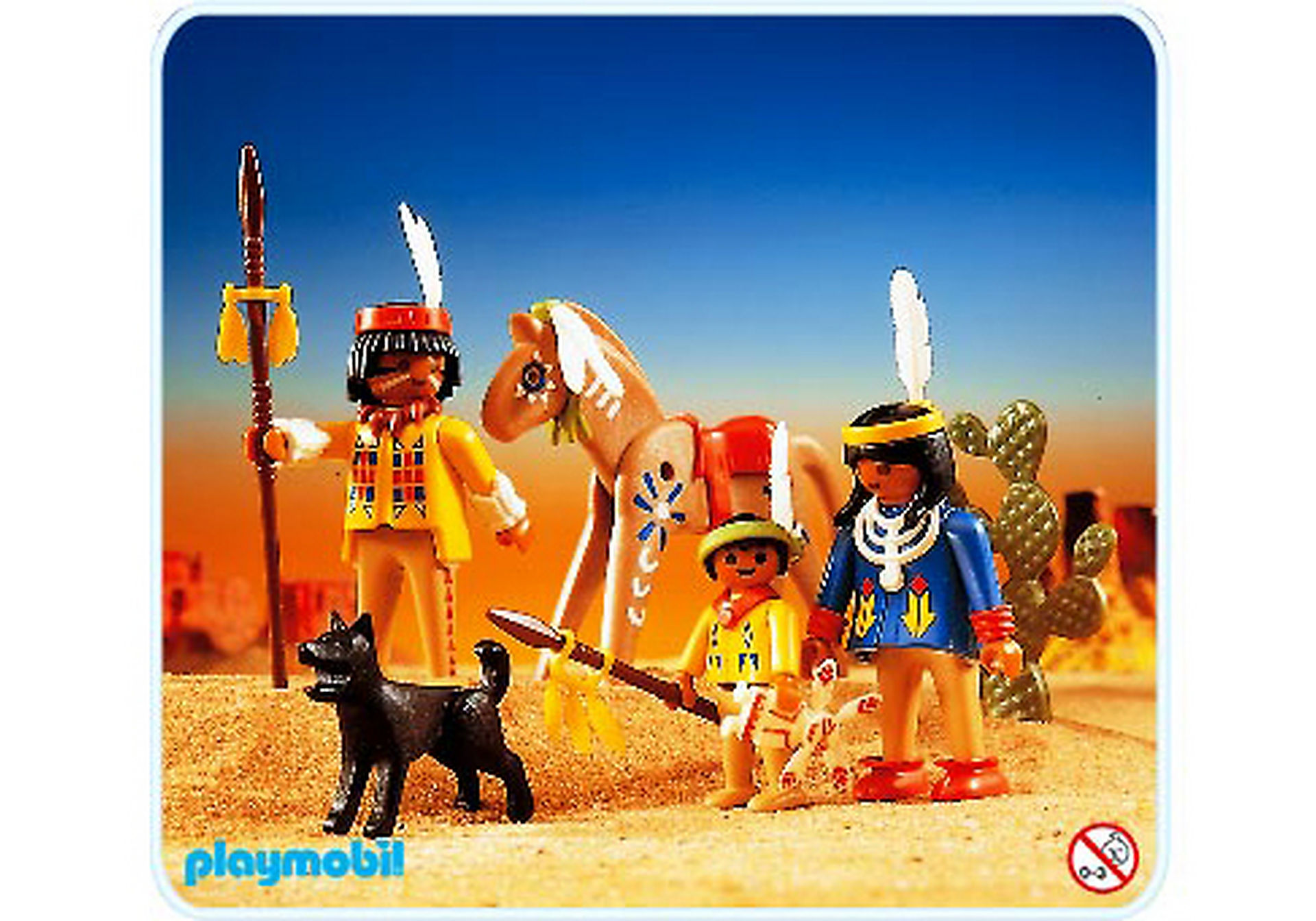 3396-A Indianer-Familie zoom image1