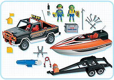 3399-A Speedster-Rennboot mit Pickup detail image 2
