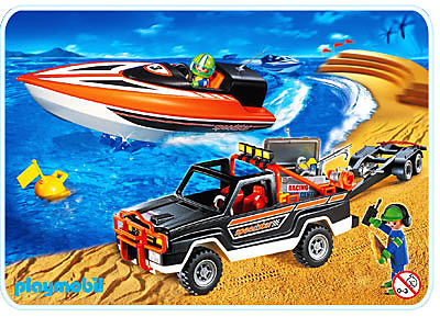 3399-A Speedster-Rennboot mit Pickup detail image 1