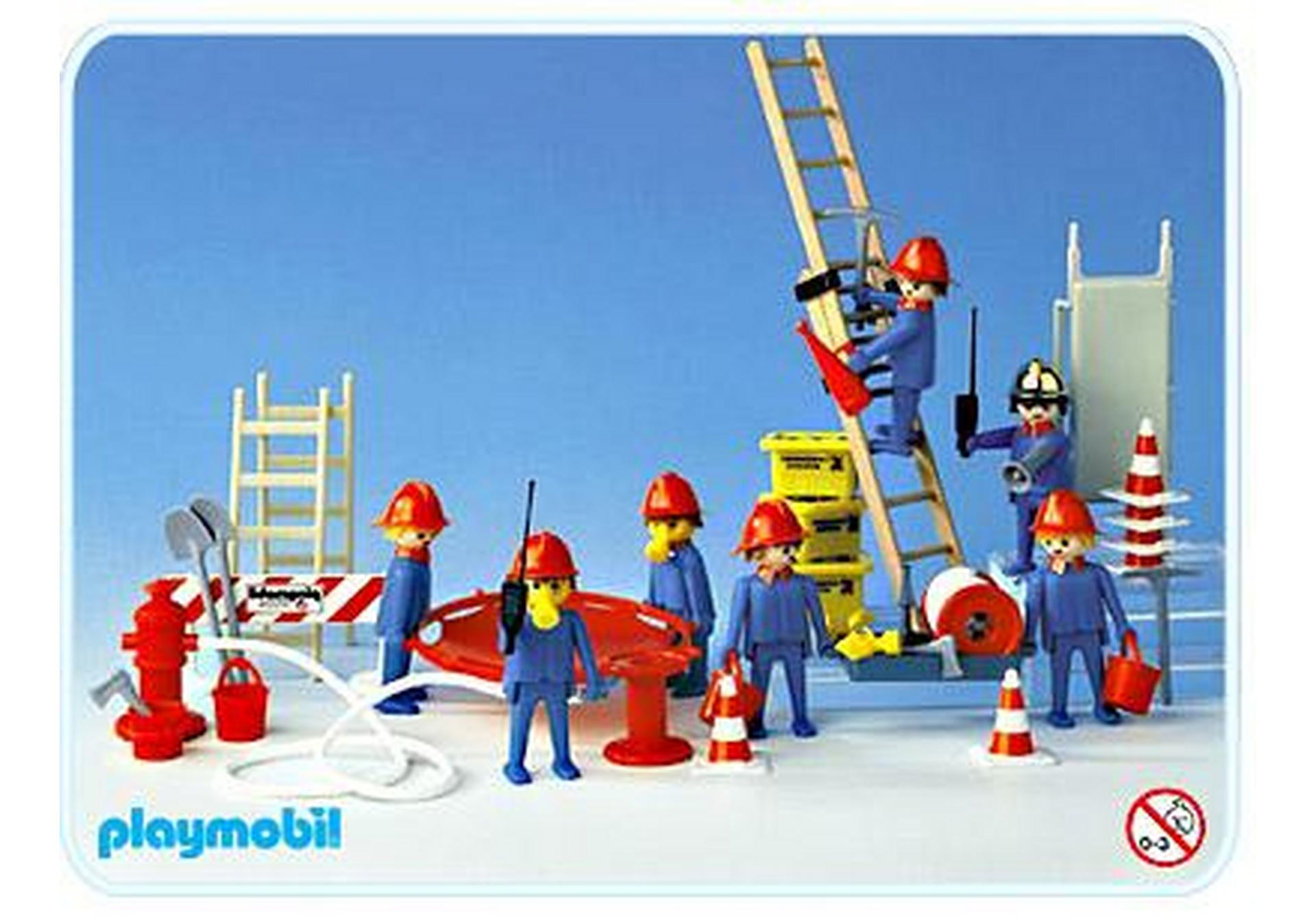 Super set pompiers 3403 a playmobil france - Playmobil pompiers ...